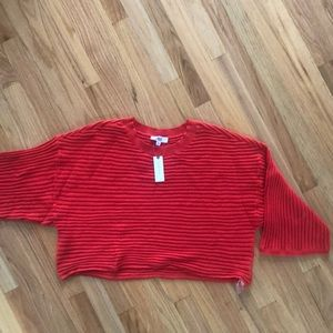 NWT Red sweater size medium by BB Dakota